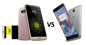 مقایسه LG G5 و OnePlus 3 ؛ قاتل پرچمداران در برابر فرزند ماژولار الجی