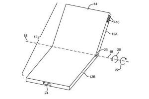 اپل پتنت گوشی های تاشو با نمایشگر منعطف را ثبت کرد