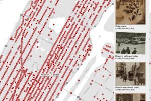 بازسازی نیویورک قرن نوزدهم با استفاده از ۸۰ هزار تصویر قدیمی