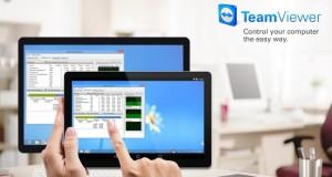 عرضه نسخه بتای نرم افزار TeamViewer 12 با امکان ریموت گوشی های هوشمند