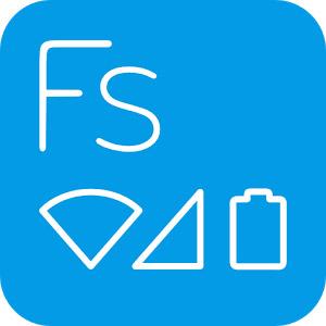 Flat Style Bar Indicators Pro 1.3.6 دانلود برنامه تغییر ظاهر نوار شاخص گوشی