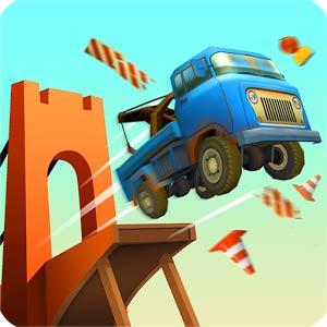Bridge Constructor Stunts 1.4 بازی پل سازی + مود برای اندروید