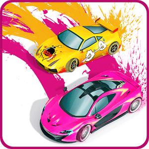 Splash Cars v1.5.09 دانلود بازی ماشین های رنگ پاش + مود برای اندروید