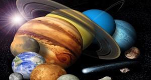 چرا رنگ سیارات متفاوت است؟