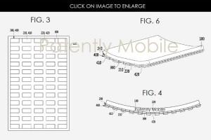 پتنت جدید سامسونگ در ارتباط با صفحه نمایش خمیده ثبت شد