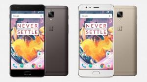 وان پلاس از تلفن پرچمدار OnePlus 3T با سخت افزار بروزرسانی شده رونمایی کرد